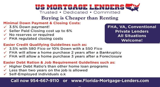 Florida FHA Mortgage Lenders