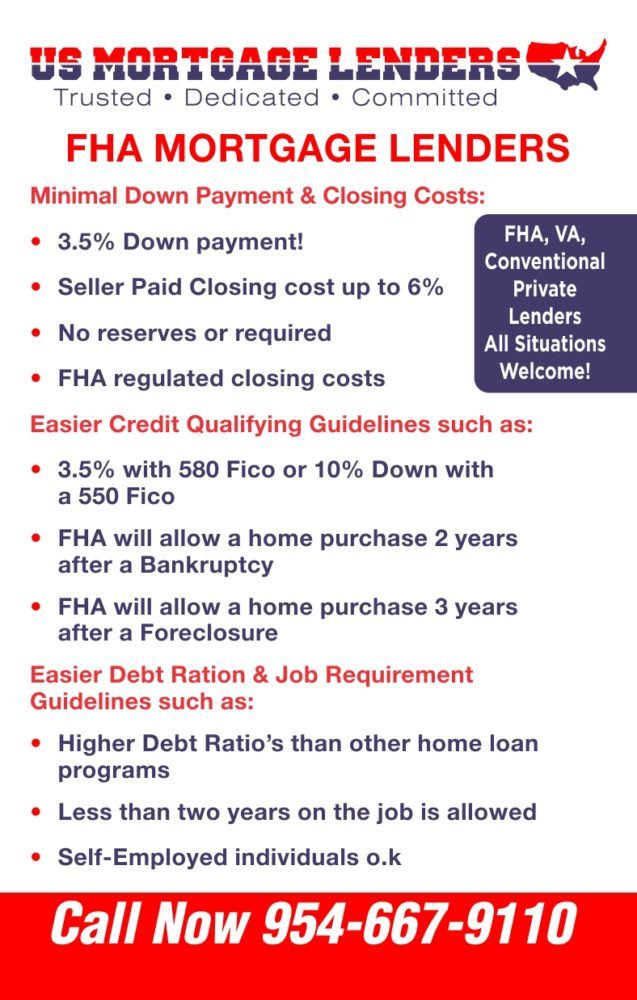 Chapter 13 Bk Buyer Fha Va Bank Statement Mortgage Lenders