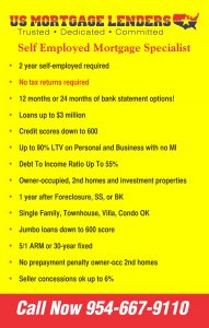 No Tax Returns Needed! - 10% Down CA Mortgage Use B S  For
