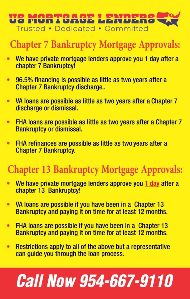 Loans After Bankruptcy >> Georgia Mortgage 1 Day After Bankruptcy Or Foreclosure