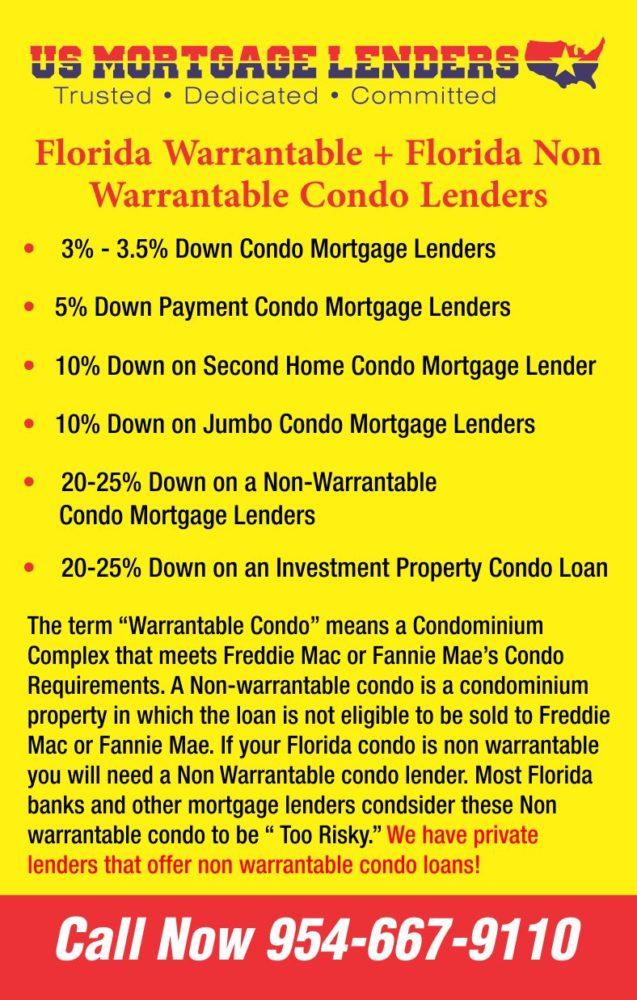 Florida Condominium Lenders - Florida Condo Loans